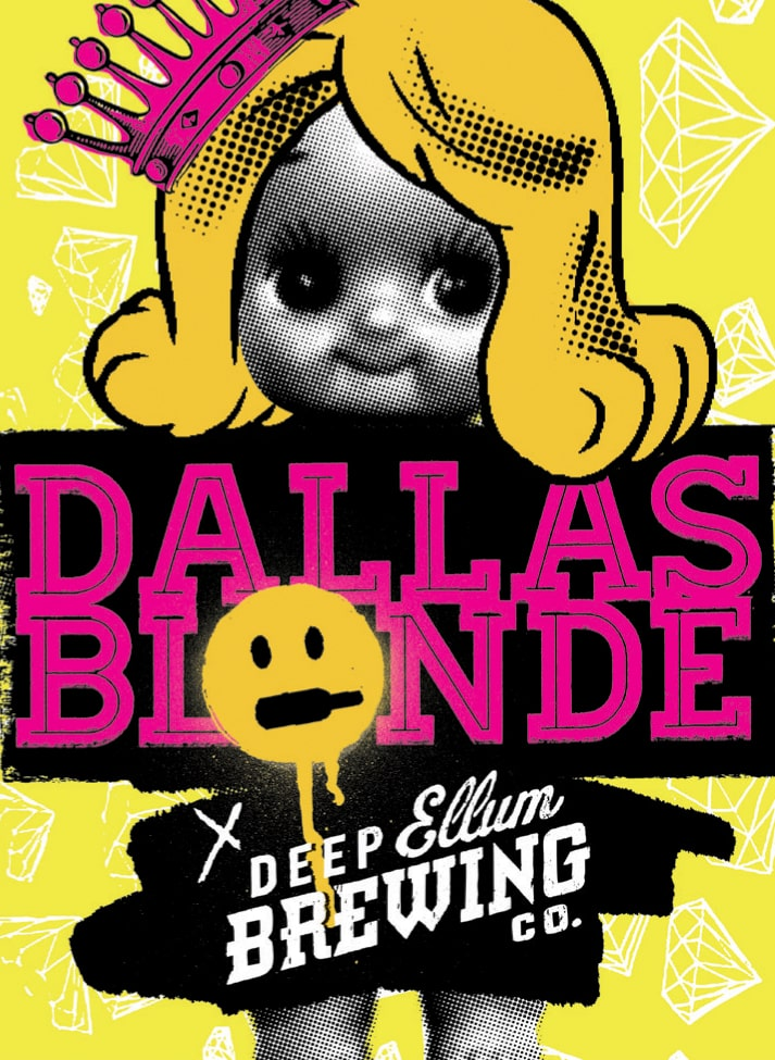 Deep Ellum Brewing - Dallas Blonde